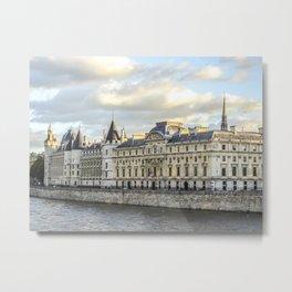 Conciergerie in Paris Metal Print