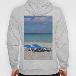 Deck Chairs on Beach Hoody
