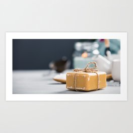 spa settings Art Print