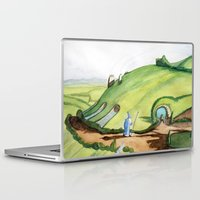 hobbit Laptop & iPad Skins featuring The Hobbit by Emily