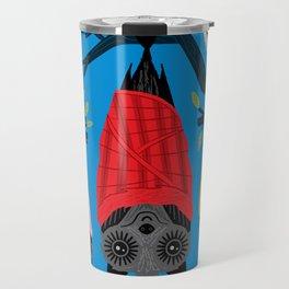 Bats in Blankets Travel Mug