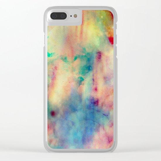 Fume Color Splash 06 Clear iPhone Case