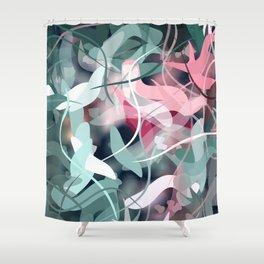 Spring Birds Shower Curtain