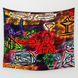 Stunned Wall Tapestry