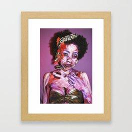 Medusa Undead Framed Art Print