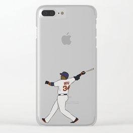 David Ortiz Clear iPhone Case