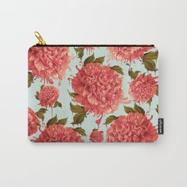 A Splash of Peony, A Dash of Color Carry-All Pouch