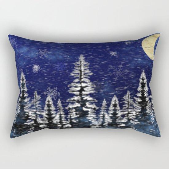 Stormy Night Rectangular Pillow