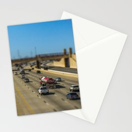 Oklahoma Highway by Monique Ortman Stationery Cards