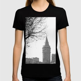 Galata Tower in Istanbul T-shirt