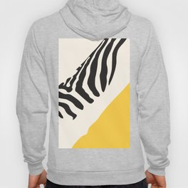 Zebra Abstract Hoody