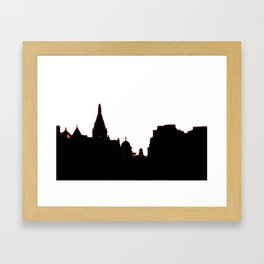 London Skyline bywhacky Framed Art Print