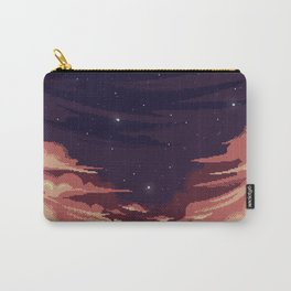 Sky pixel art Carry-All Pouch