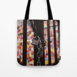 Heart Lock Tote Bag