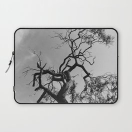 Old Spooky Bare Tree Branches Laptop Sleeve
