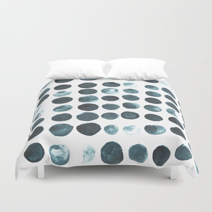 Faded dots Duvet Cover