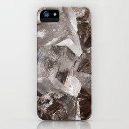 Giant Ice Blocks iPhone Case