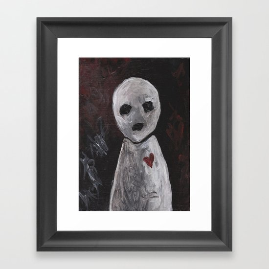 Portraits of Ghosts #6 Framed Art Print