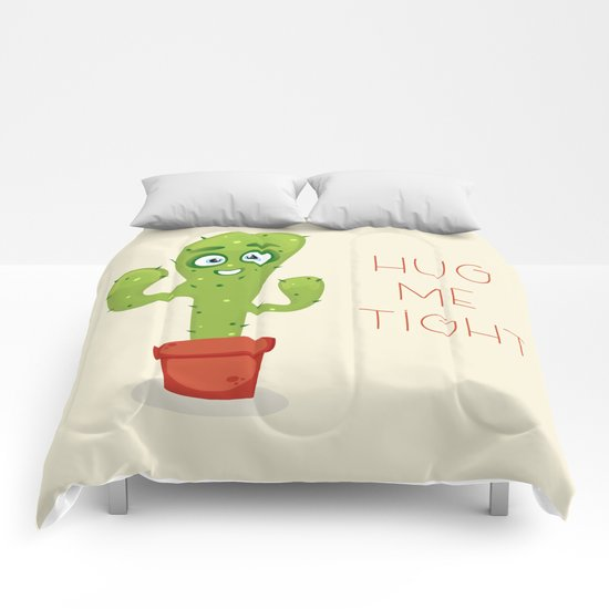 Hug the Cactus Comforters