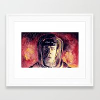 spock Framed Art Prints featuring Spock  by margaw