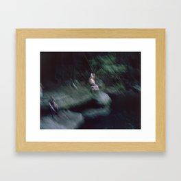 Spring Swing Framed Art Print