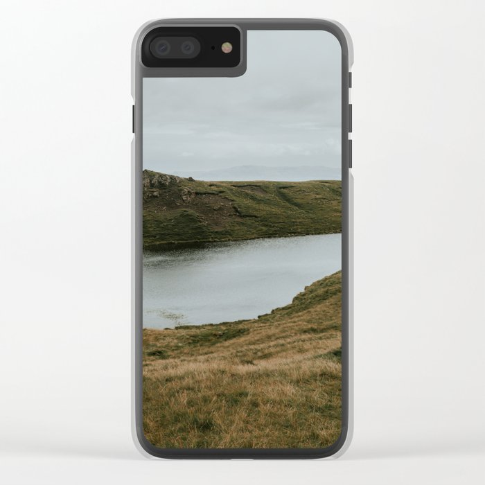 Skye Lake - Landscape Photography Clear iPhone Case