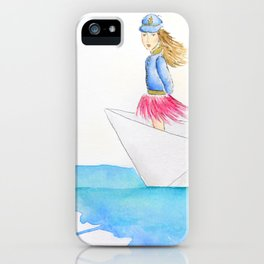 My boat, my rules iPhone Case