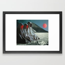 """The Sisters of Mercy"" Martin Carri Collaboration Framed Art Print"