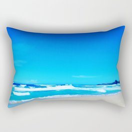 Carribean Coast Rectangular Pillow