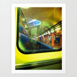 Rear Window. Art Print