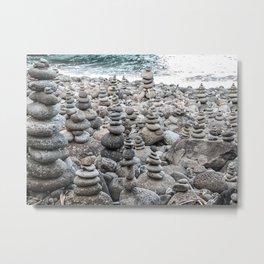 Balancing Rocks Metal Print