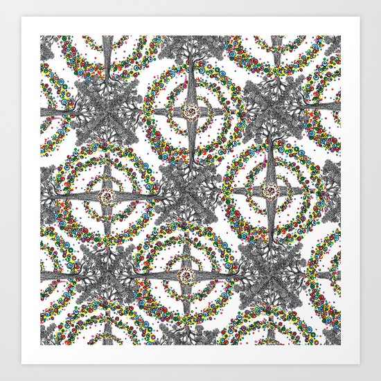 Energy Expansion Art Print