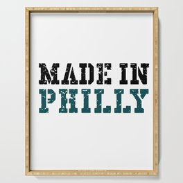 Made In Philly Serving Tray