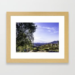 Jamul Summer Framed Art Print