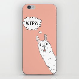 Llama WTF iPhone Skin
