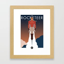 The Rocket Man Framed Art Print