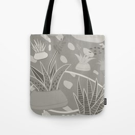 Succulents Camouflage Tote Bag