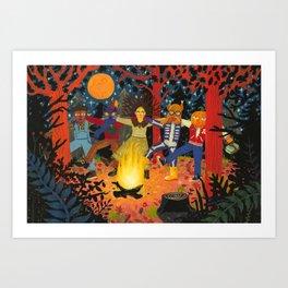 The Spirits of Autumn Art Print