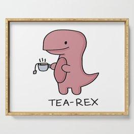 Tea Rex Serving Tray