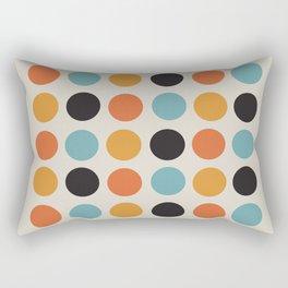 Bauhaus dots Rectangular Pillow