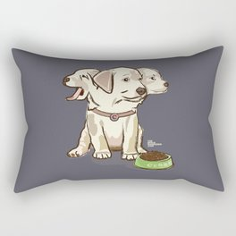 Cerberus Puppy Rectangular Pillow