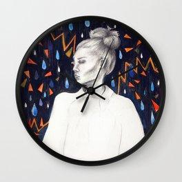 Angsty eyes Wall Clock