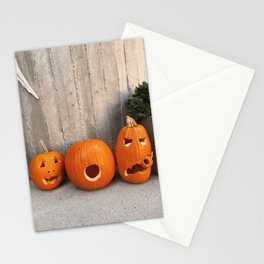 halloween friends Stationery Cards