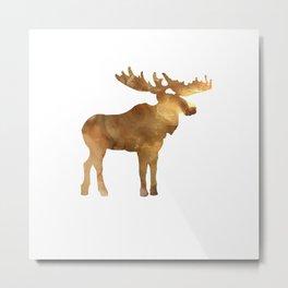 Mikey Moose Metal Print