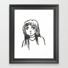 Gormless Framed Art Print