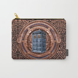 Aztec Tardis doctor who full color iPhone 4 4s 5 5c 6, pillow case, mugs and tshirt Carry-All Pouch