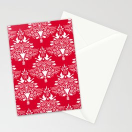 Christmas Paper Cutting Red Stationery Cards