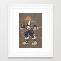 zidane Framed Art Prints featuring Zidane by JHTY