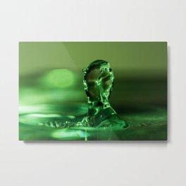 The Water Warrior Metal Print