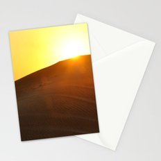 Sunset Desert Stationery Cards